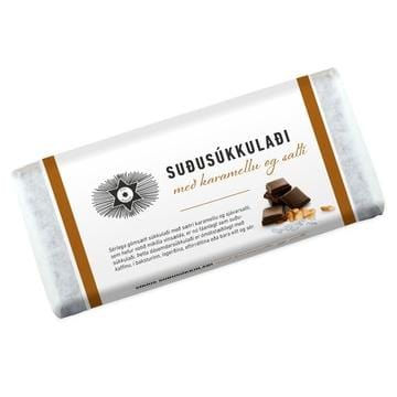 Noi Sirius Konsum Chocolate - Caramel and seasalt, Icelandic Candy - icelandicstore.is
