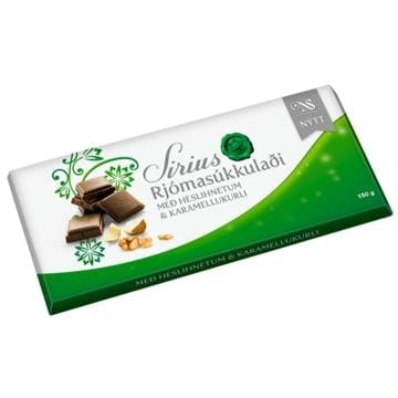 Noi Sirius Chocolate - Milk Chocolate w. caramel and nuts, Icelandic Candy - icelandicstore.is