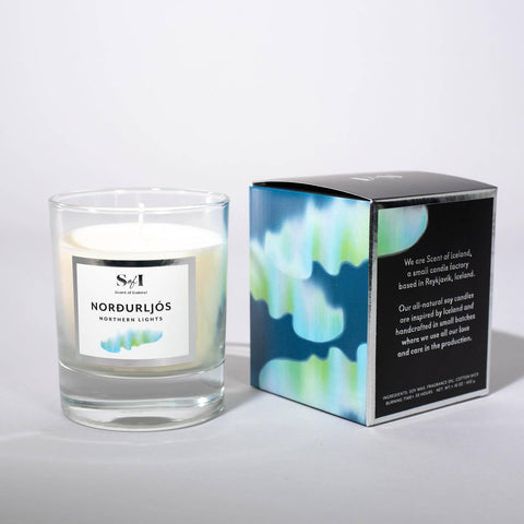 Scent of Iceland - Northern Lights, Icelandic Candle - icelandicstore.is