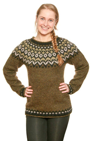 Riddari - Icelandic Sweater - Green