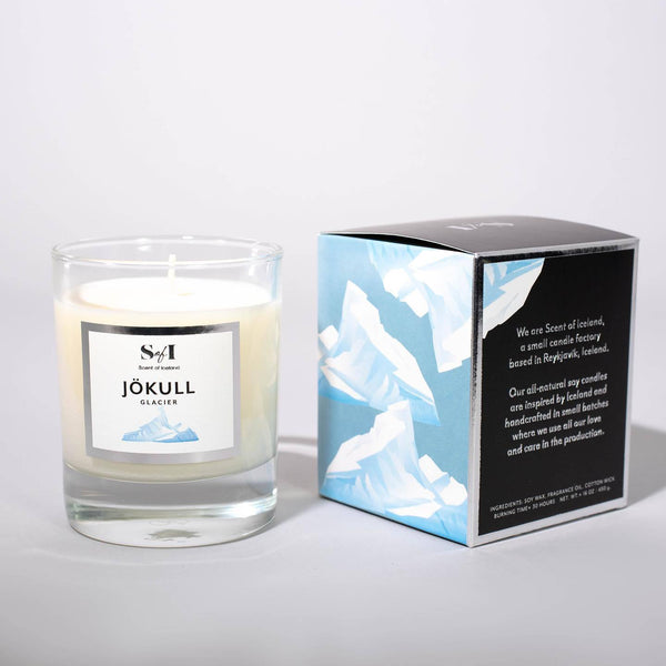 Scent of Iceland - Glacier, Icelandic Candle - icelandicstore.is
