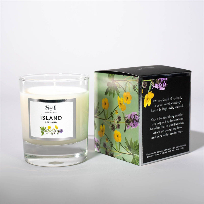 Scent of Iceland - Iceland, Icelandic Candle - icelandicstore.is