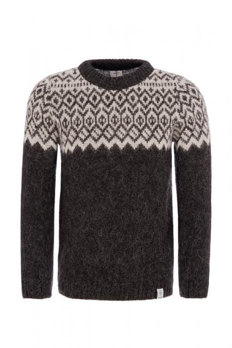 Borg - Icelandic sweater (Black), Kidka Sweater - icelandicstore.is