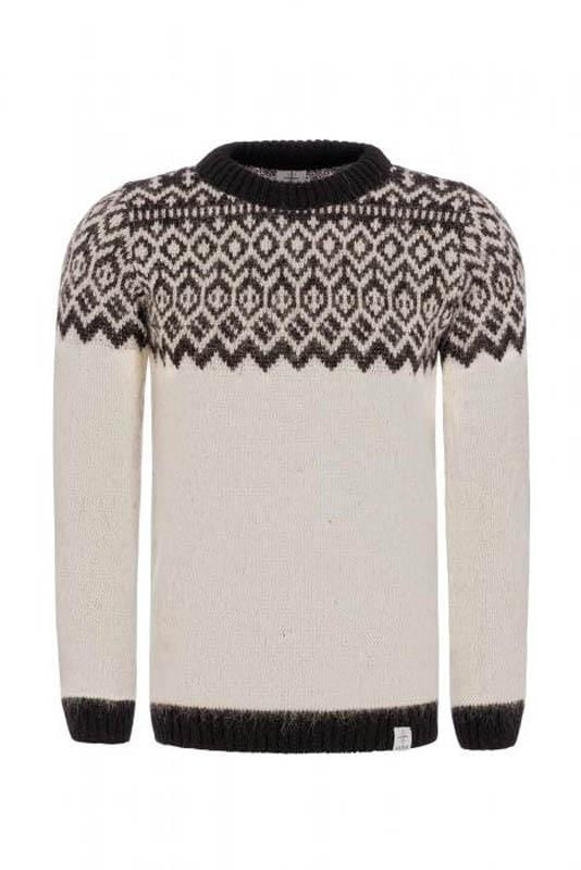Borg - Icelandic sweater (White), Kidka Sweater - icelandicstore.is