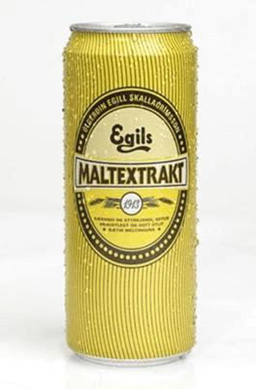 Egils Malt (Non-alcaholic) - Case of 24, Icelandic soft drink - icelandicstore.is
