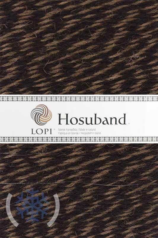 Hosuband - 0227 Black Heather / Khaki - icelandicstore.is
