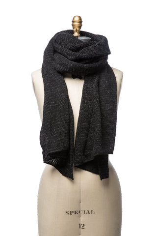 Varma Wool Scarf - Black
