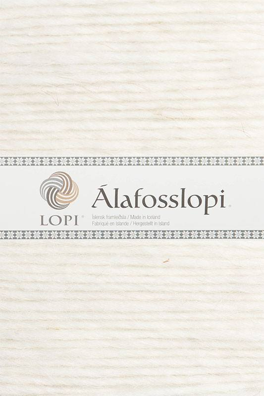 Alafoss Lopi - 0051 White - icelandicstore.is