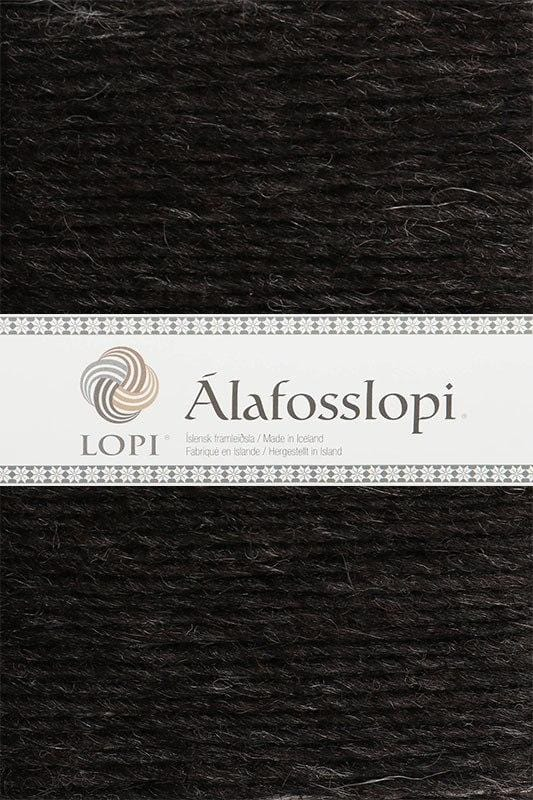 Alafoss Lopi - 0052 Black Sheep Heather, Álafoss Wool Yarn - icelandicstore.is