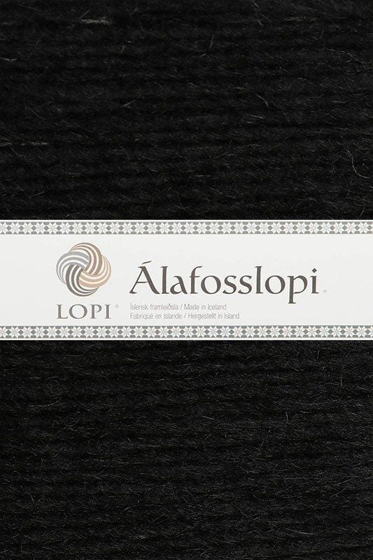 Alafoss Lopi - 0059 Black, Álafoss Wool Yarn - icelandicstore.is