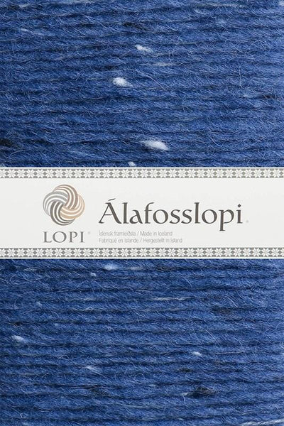 Alafoss Lopi - 1234 Blue Tweed, Álafoss Wool Yarn - icelandicstore.is