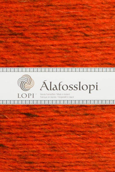 Alafoss Lopi - 1236 Burnt Orange, Álafoss Wool Yarn - icelandicstore.is