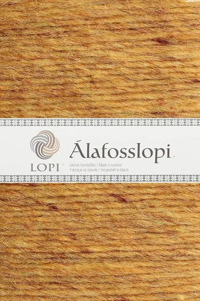 Alafoss Lopi - 9964 Golden Heather, Álafoss Wool Yarn - icelandicstore.is