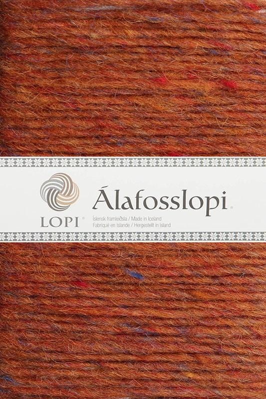 Alafoss Lopi - 9971 Amber Heather, Álafoss Wool Yarn - icelandicstore.is