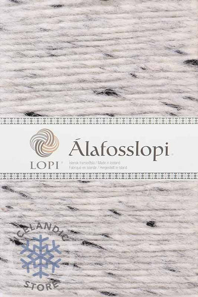 Alafoss Lopi - 9974 Light Grey Tweed, Álafoss Wool Yarn - icelandicstore.is