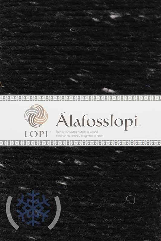Alafoss Lopi - 9975 Black Tweed, Álafoss Wool Yarn - icelandicstore.is