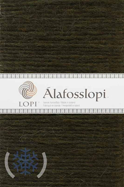 Alafoss Lopi - 9987 Dark Olive, Álafoss Wool Yarn - icelandicstore.is