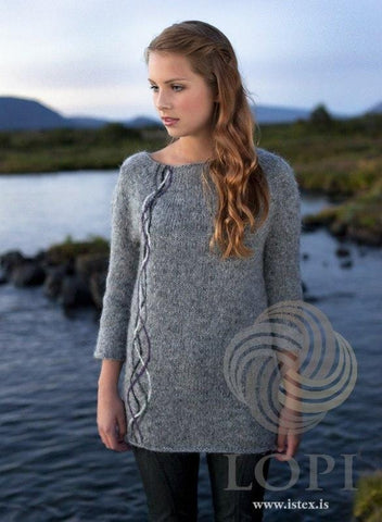 Bylgja - Grey Knitting Kit, Knitting Kit - icelandicstore.is