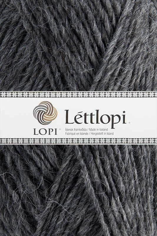 Léttlopi - 0058 Dark Grey Heather, Léttlopi - icelandicstore.is