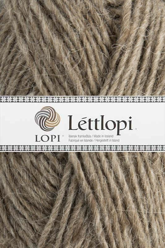 Léttlopi - 0085 Oatmeal Heather, Léttlopi - icelandicstore.is
