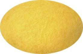Felting Wool - Yellow Nr. 0017, Felting Wool - icelandicstore.is
