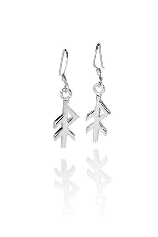 ENERGY / ORKA SILVER EARRINGS, Alrún Earring - icelandicstore.is