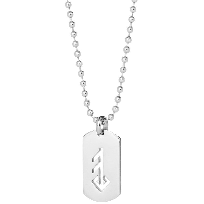 LOVE / ÁST STEEL DOG-TAG - icelandicstore.is