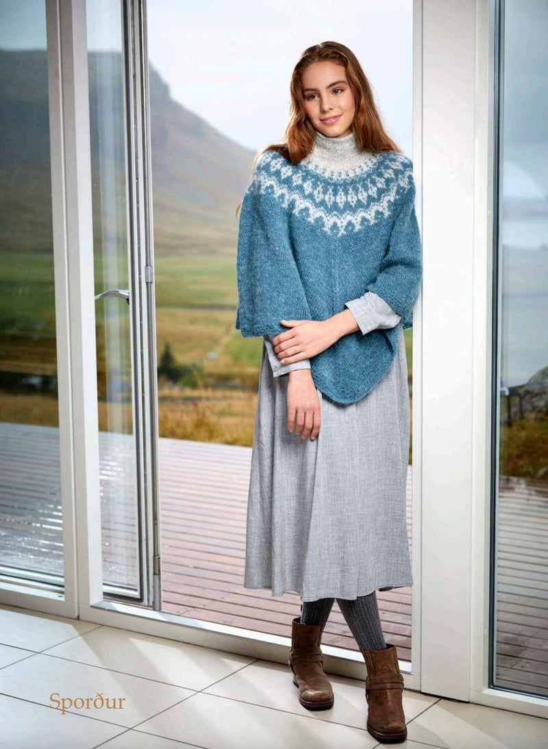 Sporður -  Bluegreen Knitting Kit, Knitting Kit - icelandicstore.is