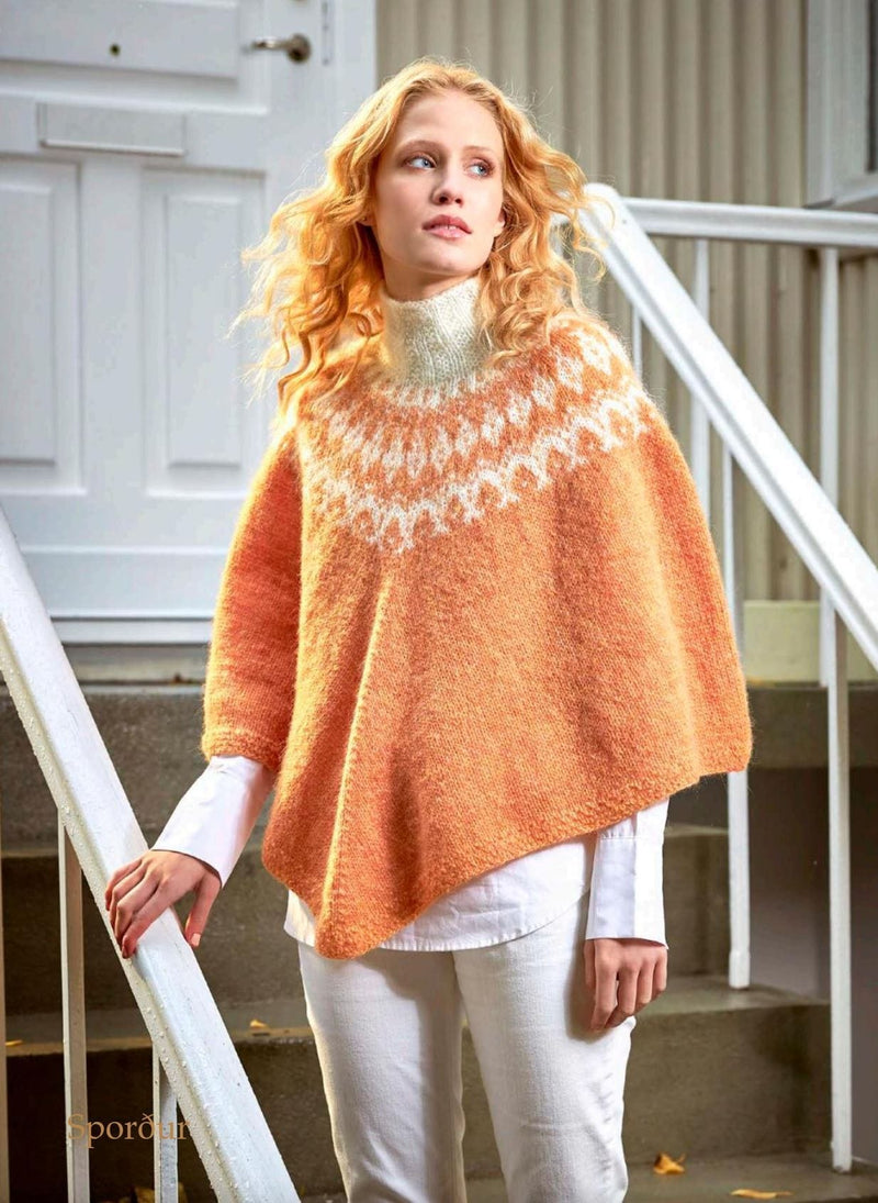 Sporður -  Peach Knitting Kit - icelandicstore.is