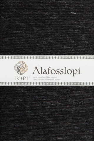 Alafoss Lopi - 0005 Black Heather, Álafoss Wool Yarn - icelandicstore.is