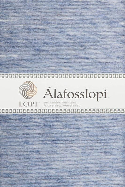 Alafoss Lopi - 0008 Light Denim Heather, Álafoss Wool Yarn - icelandicstore.is
