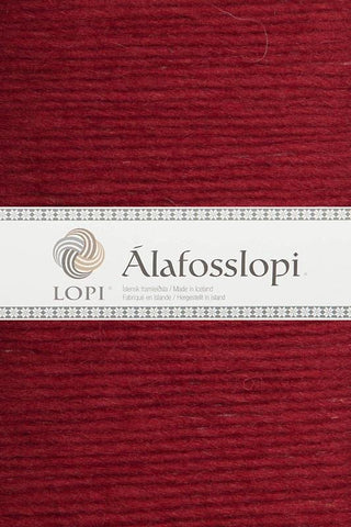 Alafoss Lopi - 0047 Happy Red, Álafoss Wool Yarn - icelandicstore.is