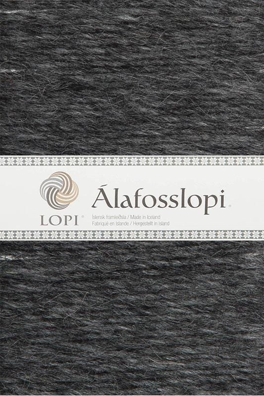 Alafoss Lopi - 0058 Dark Grey Heather, Álafoss Wool Yarn - icelandicstore.is