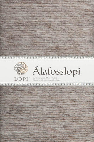 Alafoss Lopi - 0086 Light Beige Heather, Álafoss Wool Yarn - icelandicstore.is