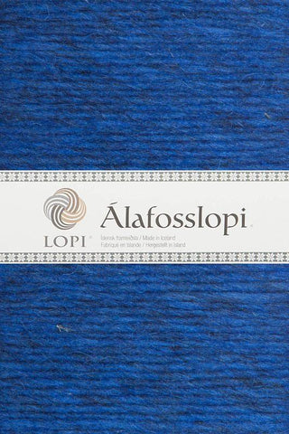 Alafoss Lopi - 1233 Space Blue, Álafoss Wool Yarn - icelandicstore.is