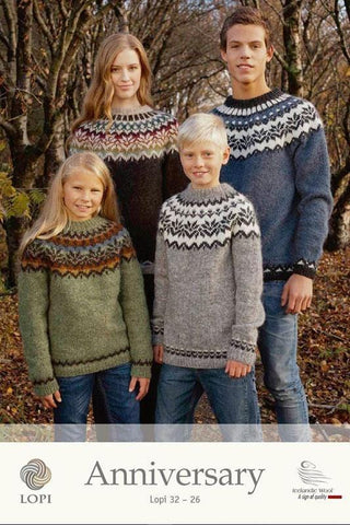 Anniversary - Free Knitting pattern, Knitting Pattern - icelandicstore.is