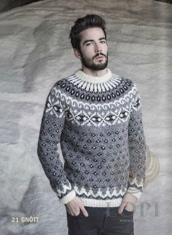 Gnótt - Custom made Icelandic Sweater, Men's Custom Sweaters - icelandicstore.is