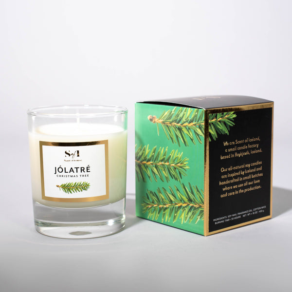 Jólatré / Christmas Tree fragrance: Spruce tree, Icelandic Candle - icelandicstore.is