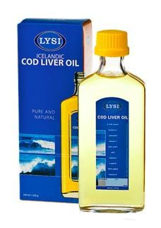 LIQUID COD LIVER OIL LEMON - PACK OF 12, Liquid Cod Oil - icelandicstore.is