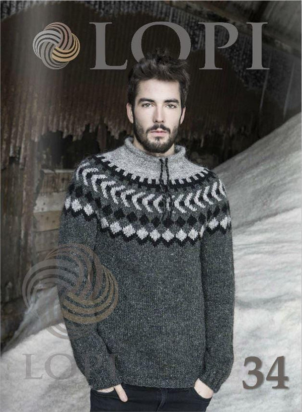 LOPI 34 - Knitting Patterns, Knitting Book - icelandicstore.is