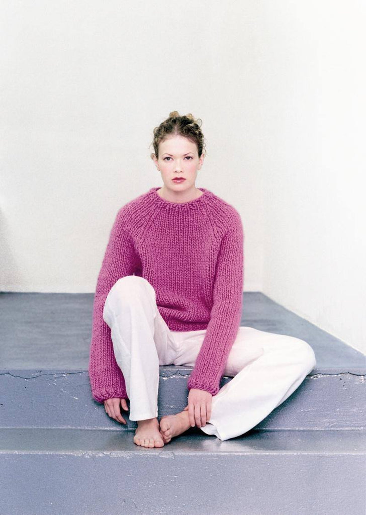 Free Icelandic Sweater knitting pattern - Pink – icelandicstore.is