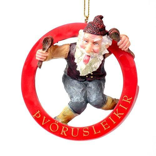 Spoon Licker - Yule Lad Ornament, Yule Lad Ornament - icelandicstore.is