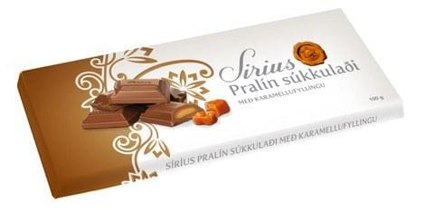 Noi Sirius Chocolate - Pralin Caramel, Icelandic Candy - icelandicstore.is