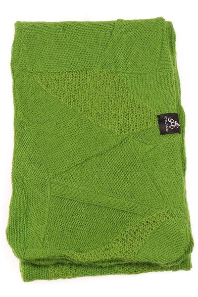 Wool Scarf - Green, Wool Scarf - icelandicstore.is