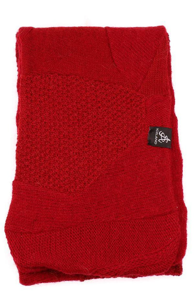 Wool Scarf - Red, Wool Scarf - icelandicstore.is
