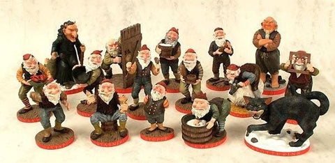 Yule Lads Figures - Set of all 16, Yule Lad Figurine - icelandicstore.is