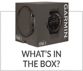 Garmin fenix 5X Box