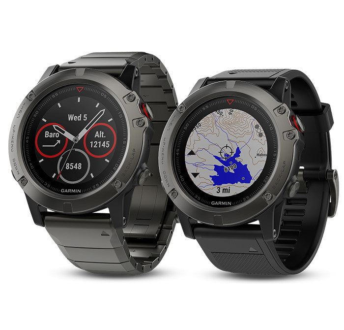 Garmin fenix 5X - Both Versions