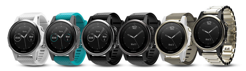 Garmin fenix 5S All Colors