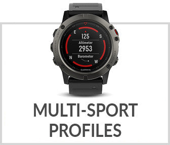 Garmin fenix 5X Multi-Sport Activity Profiles